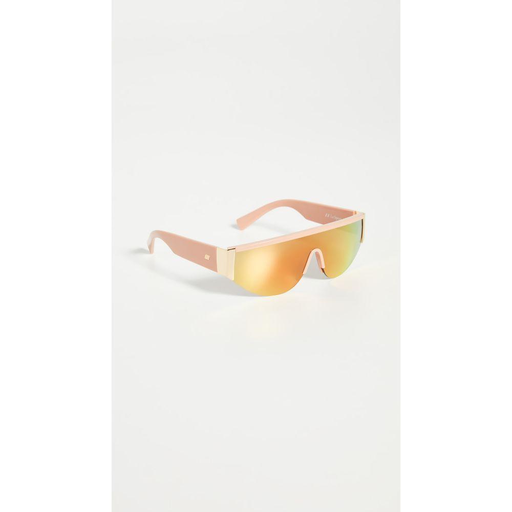ル スペックス Le Specs レディース メガネ・サングラス 【Viper Sunglasses】Blush/Goldbrass Mirror