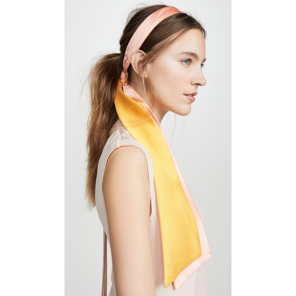 ユージニア キム Eugenia Kim レディース ヘアアクセサリー ヘッドバンド【Tamara Headband】Coral/Marigold