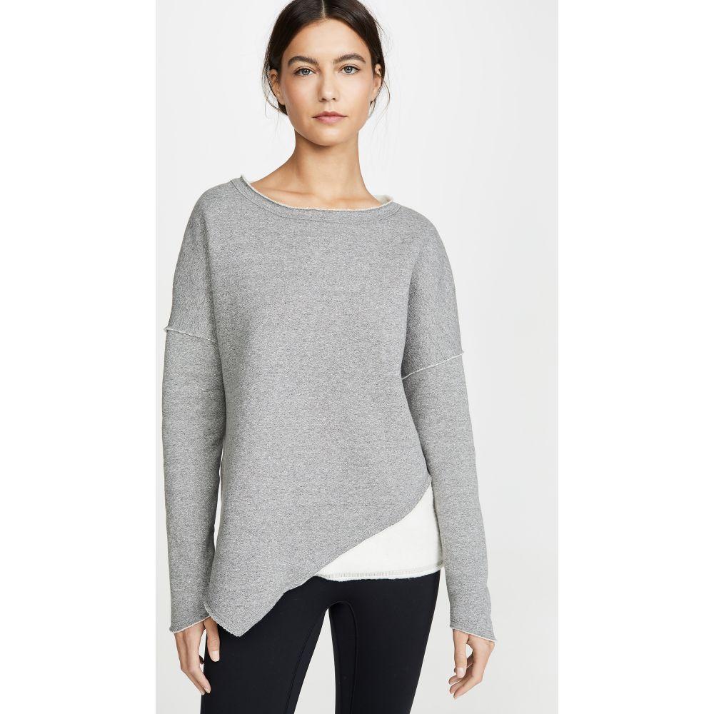 アララ レディース トップス スウェット トレーナー 大放出セール WEB限定 サイズ交換無料 Heather Exhale Grey Sweatshirt ALALA
