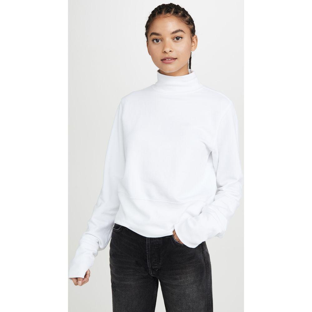 コットンシチズン Cotton Citizen レディース スウェット・トレーナー トップス【Milan Sweatshirt】White