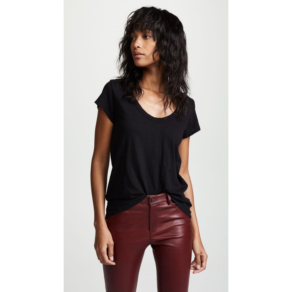 ベルベット グラハム&スペンサー Velvet レディース Tシャツ トップス【Original T-Shirt】Black