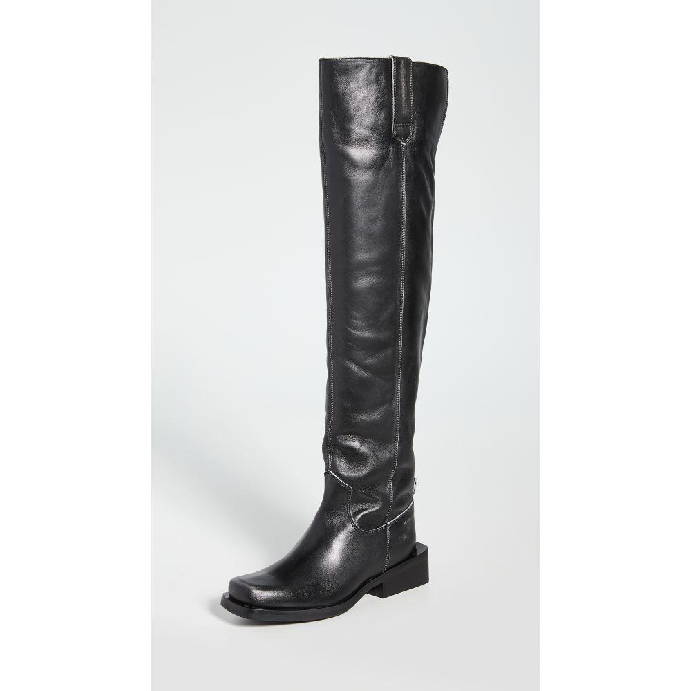 ガニー GANNI レディース ブーツ シューズ・靴【MC Knee Boots】Black