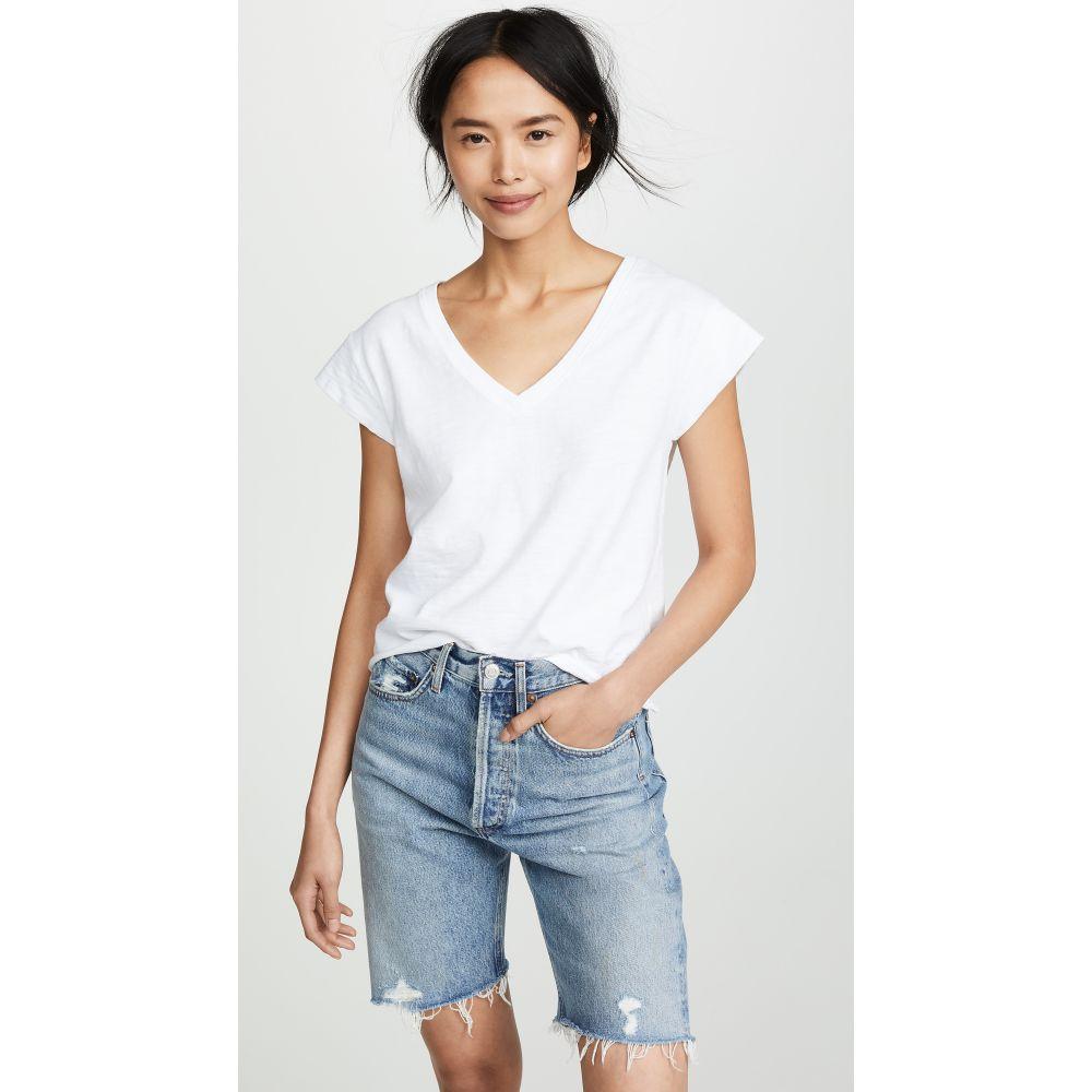 ネーション Nation LTD レディース Tシャツ トップス【Grace T-Shirt】Optic White