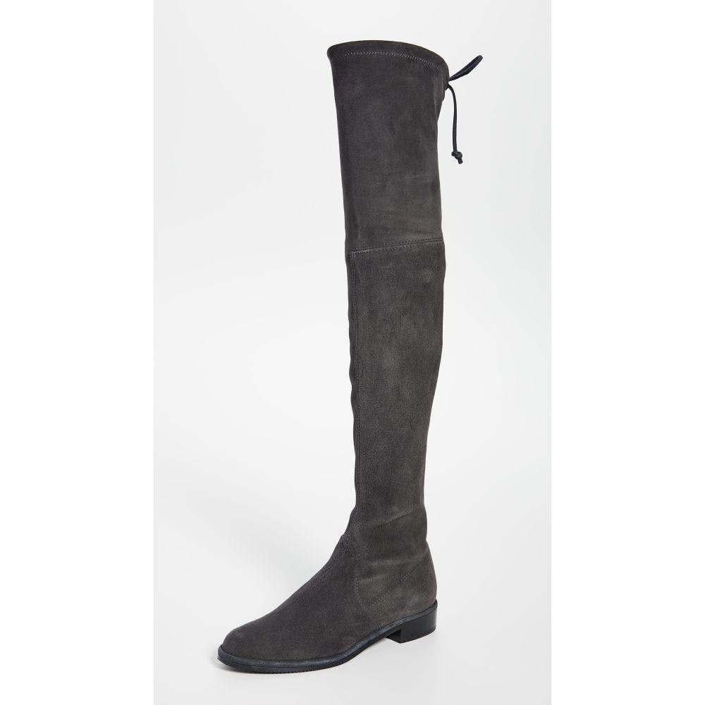 スチュアート ワイツマン Stuart Weitzman レディース ブーツ ニーハイブーツ シューズ・靴【Lowland Over The Knee Boots】Slate
