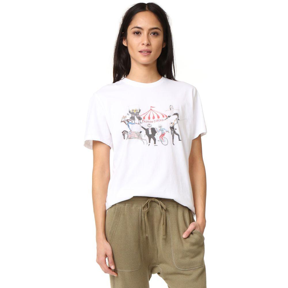 アンフォーチュネイト ポートレート Unfortunate Portrait レディース Tシャツ トップス【Fashion Circus Tee】White