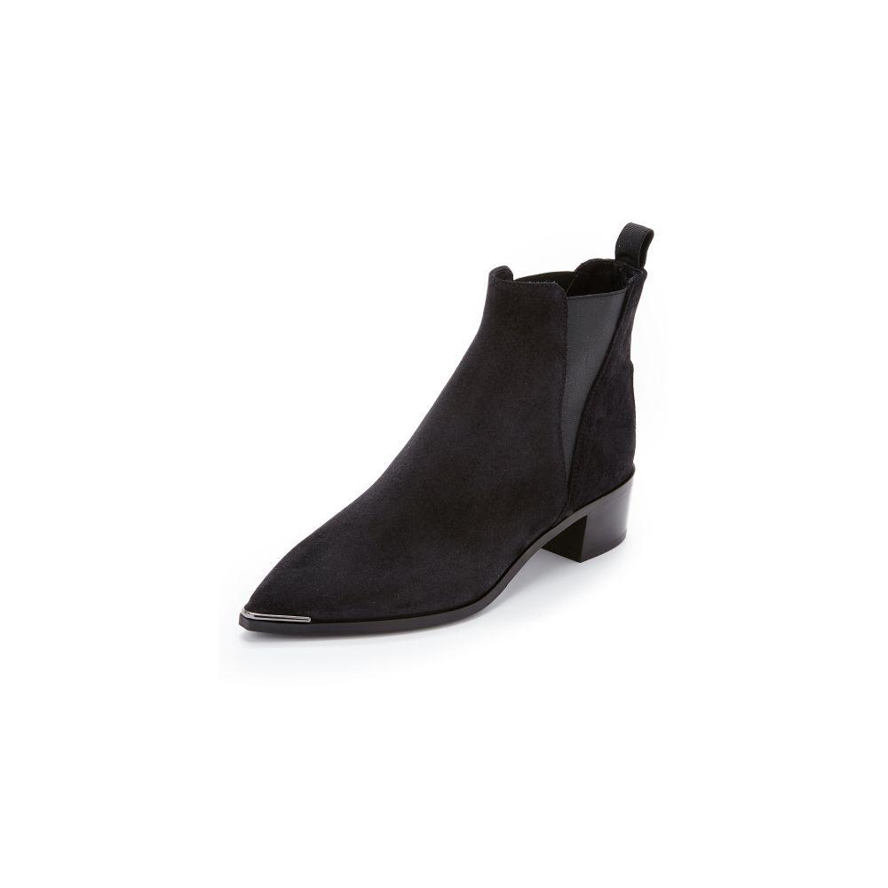 アクネ ストゥディオズ Acne Studios レディース ブーツ ブーティー シューズ・靴【Jensen Suede Booties】Black
