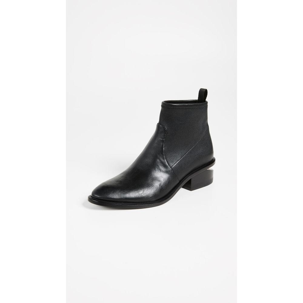 アレキサンダー ワン Alexander Wang レディース ブーツ ブーティー シューズ・靴【Kori Stretch Booties】Black