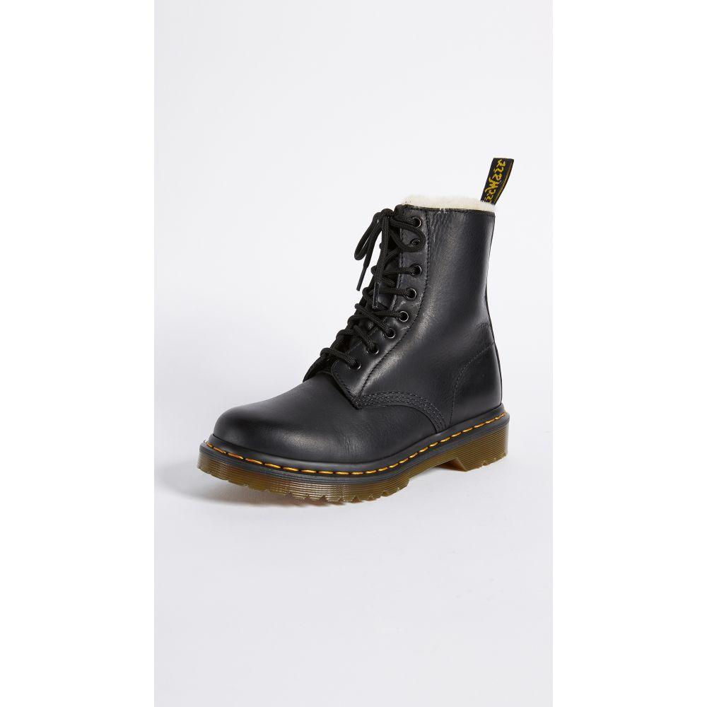 ドクターマーチン Dr. Martens レディース ブーツ シューズ・靴【1460 Serena 8 Eye Sherpa Boots】Black