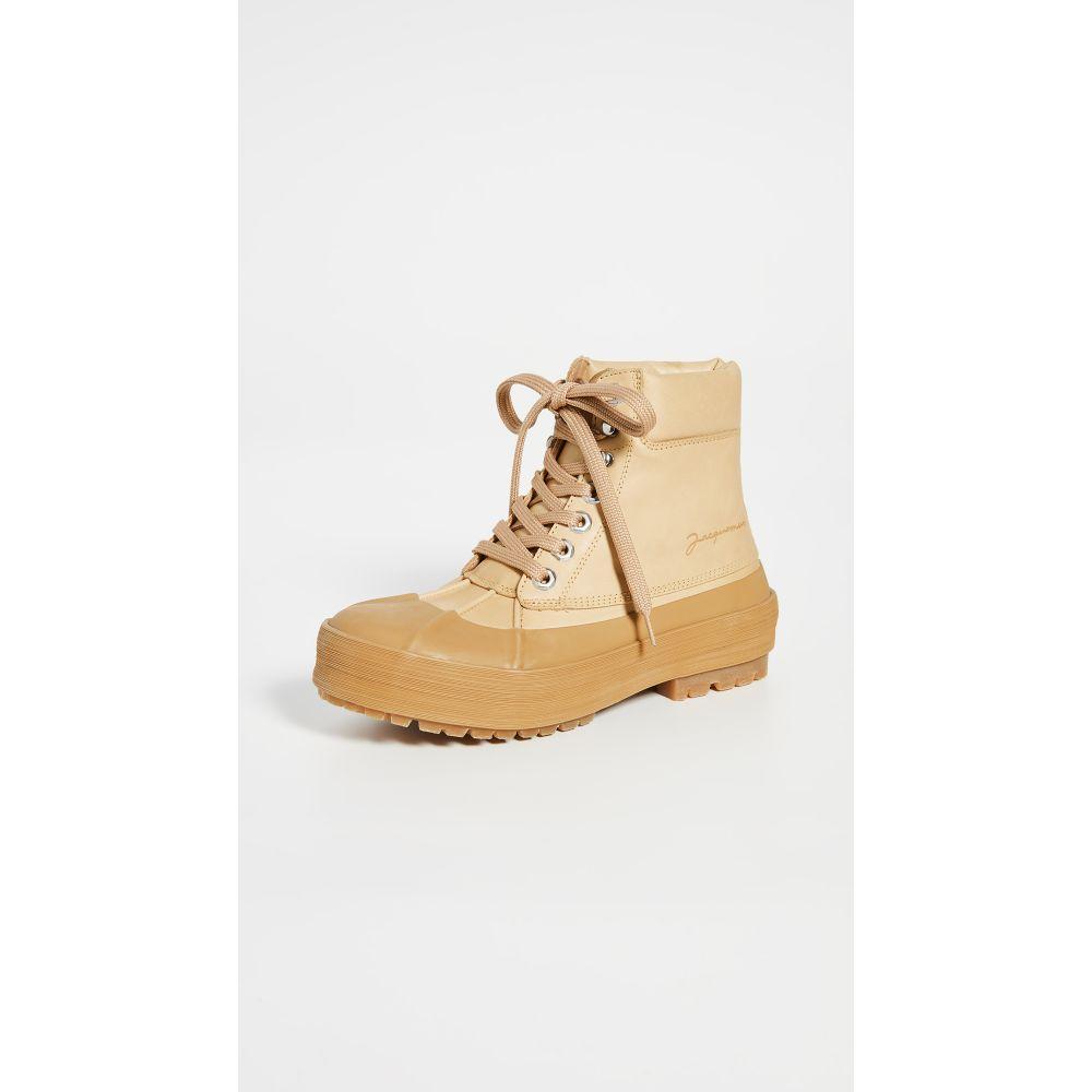 ジャックムス Jacquemus レディース ブーツ シューズ・靴【Les Meuniers Hautes Boots】Camel