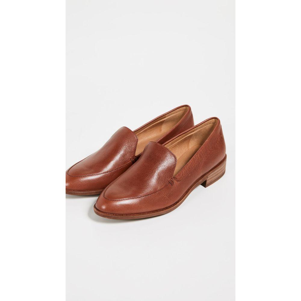 メイドウェル Madewell レディース ローファー・オックスフォード シューズ・靴【Frances Loafers】Burnished Mahogany