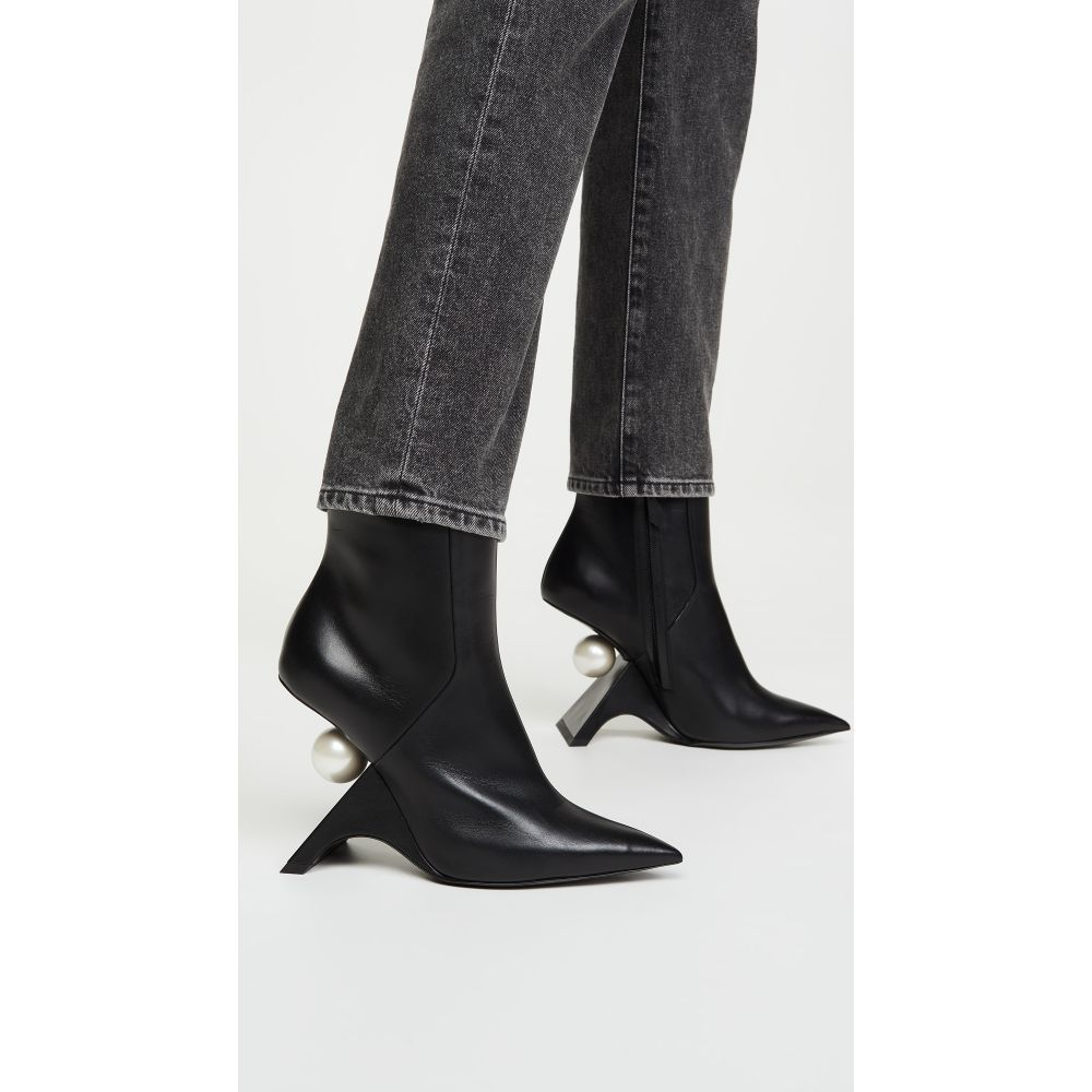ニコラス カークウッド Nicholas Kirkwood レディース ブーツ ショートブーツ シューズ・靴【Jazzelle Ankle Boots】Black