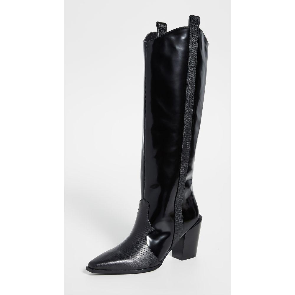 センソ SENSO レディース ブーツ ウェスタンブーツ シューズ・靴【Quivella Tall Western Boots】Ebony