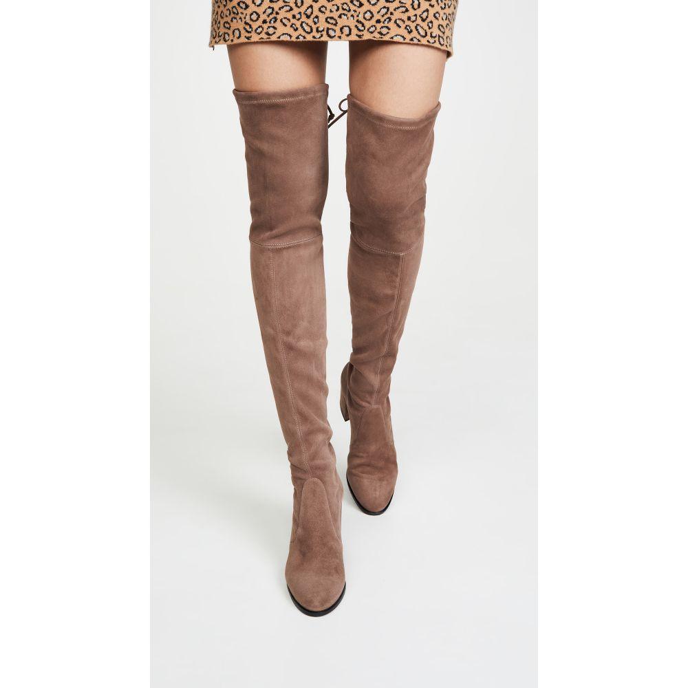 スチュアート ワイツマン Stuart Weitzman レディース ブーツ ニーハイブーツ シューズ・靴【Tieland Over the Knee Boots】Taupe