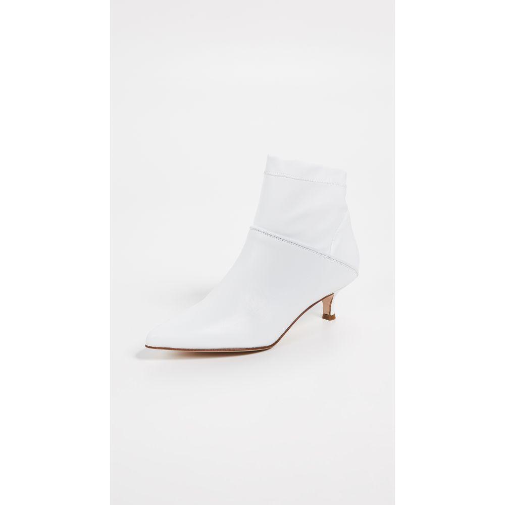 ティビ Tibi レディース ブーツ ブーティー シューズ・靴【Jean Booties】White
