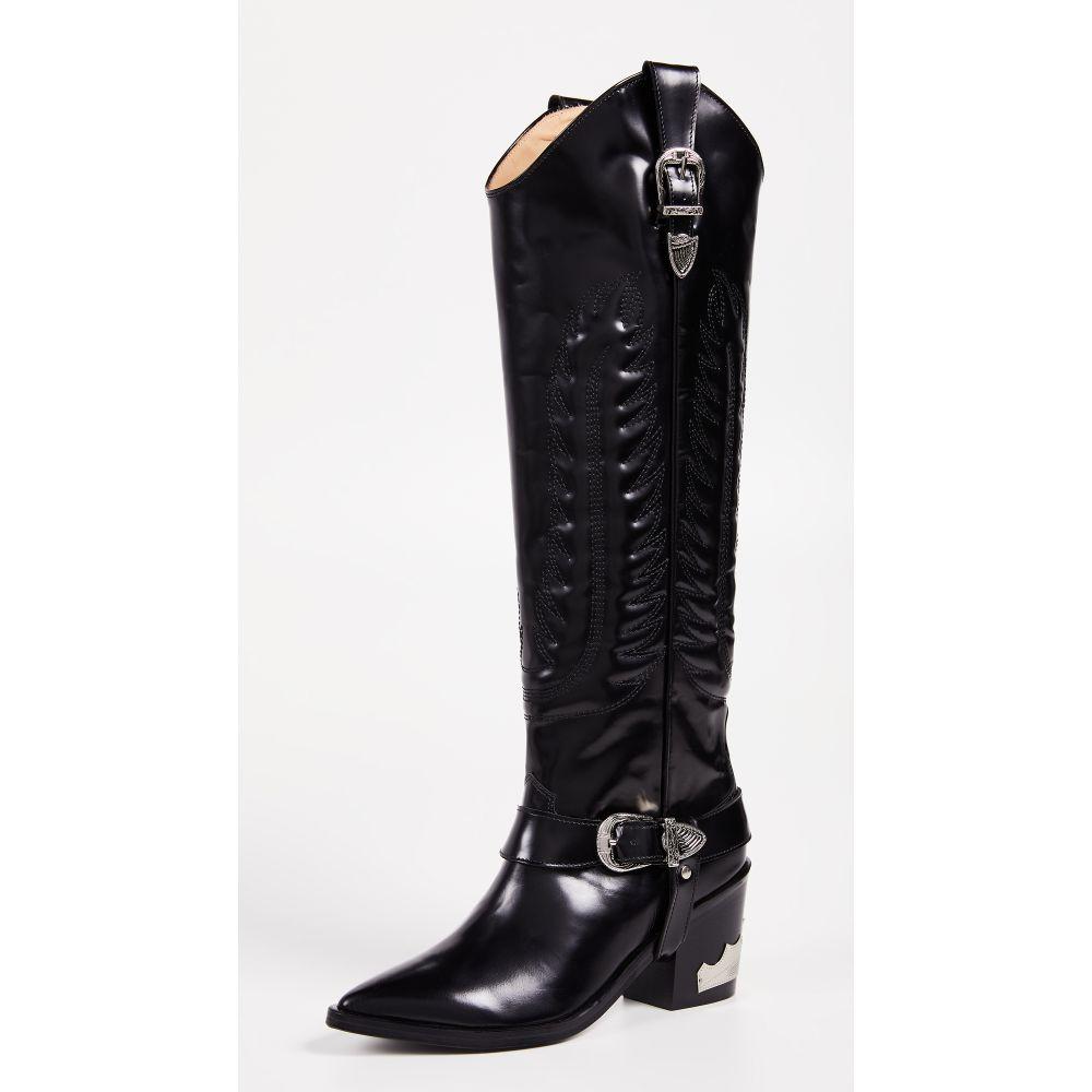 トーガ Toga Pulla レディース ブーツ シューズ・靴【Tall Buckled Boots】Black