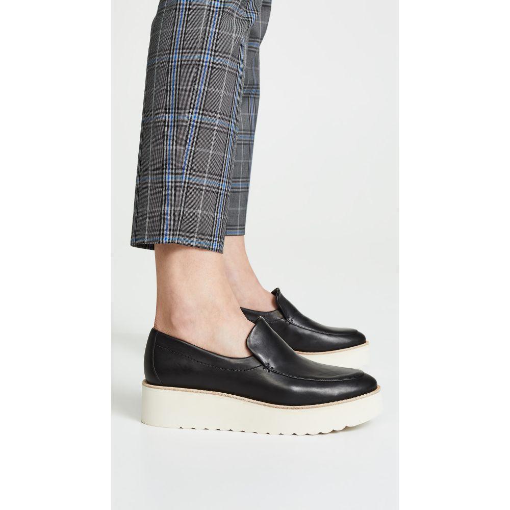 ヴィンス Vince レディース ローファー・オックスフォード シューズ・靴【Zeta Platform Loafers】Black