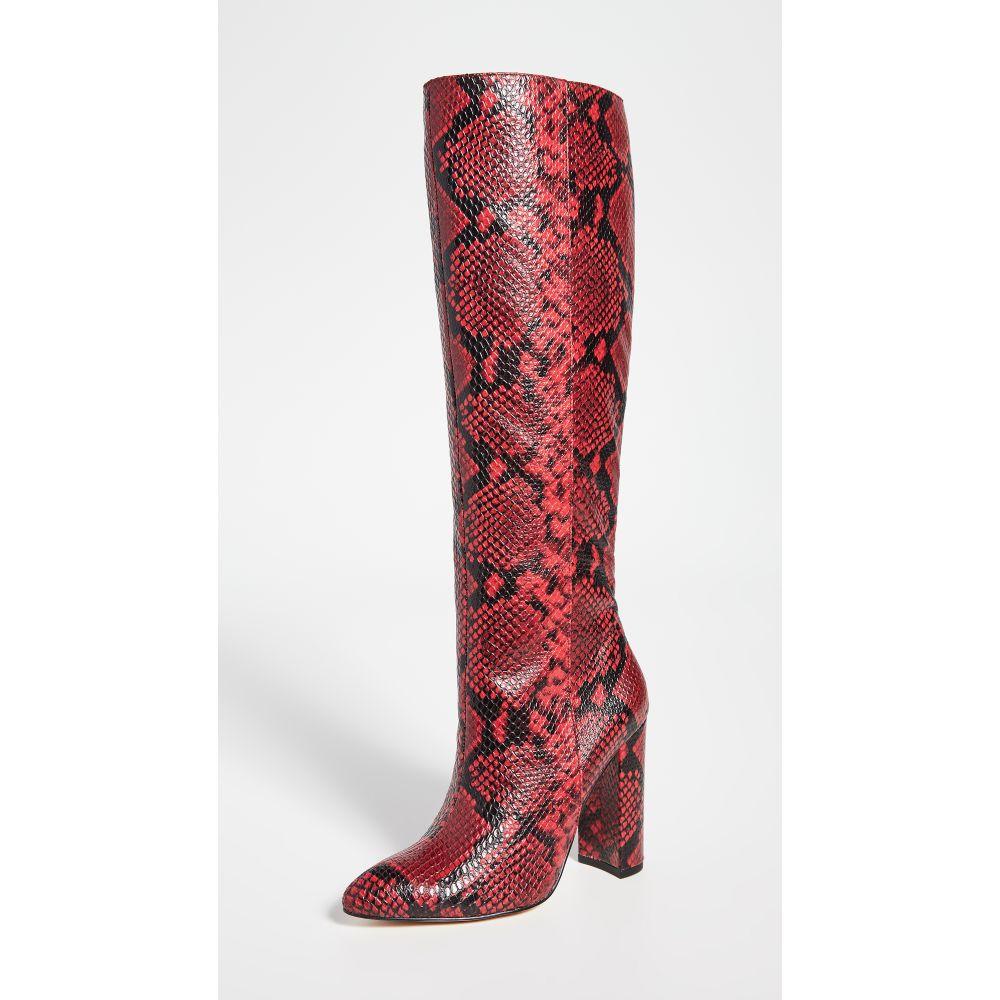 ヴィラ ルージュ Villa Rouge レディース ブーツ シューズ・靴【Klark Tall Boots】Danger (Red)/Black