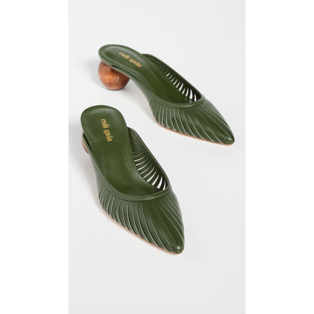 カルト ガイア Cult Gaia レディース サンダル・ミュール シューズ・靴【Alia Mules】Cypress