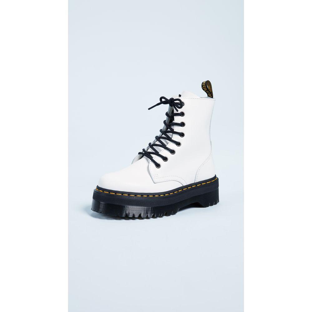 ドクターマーチン Dr. Martens レディース ブーツ シューズ・靴【Jadon 8 Eye Boots】White
