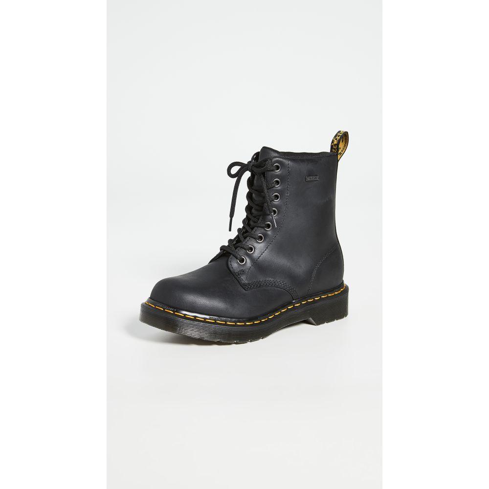 ドクターマーチン Dr. Martens レディース ブーツ シューズ・靴【1460 W Waterproof 8 Eye Boots】Black