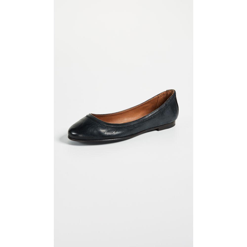 フライ Frye レディース スリッポン・フラット シューズ・靴【Carson Ballet Flats】Black