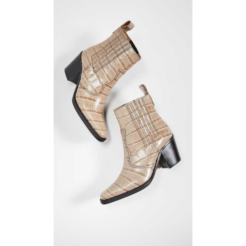 ガニー GANNI レディース ブーツ ウェスタンブーツ シューズ・靴【Western Boots】Tapioca