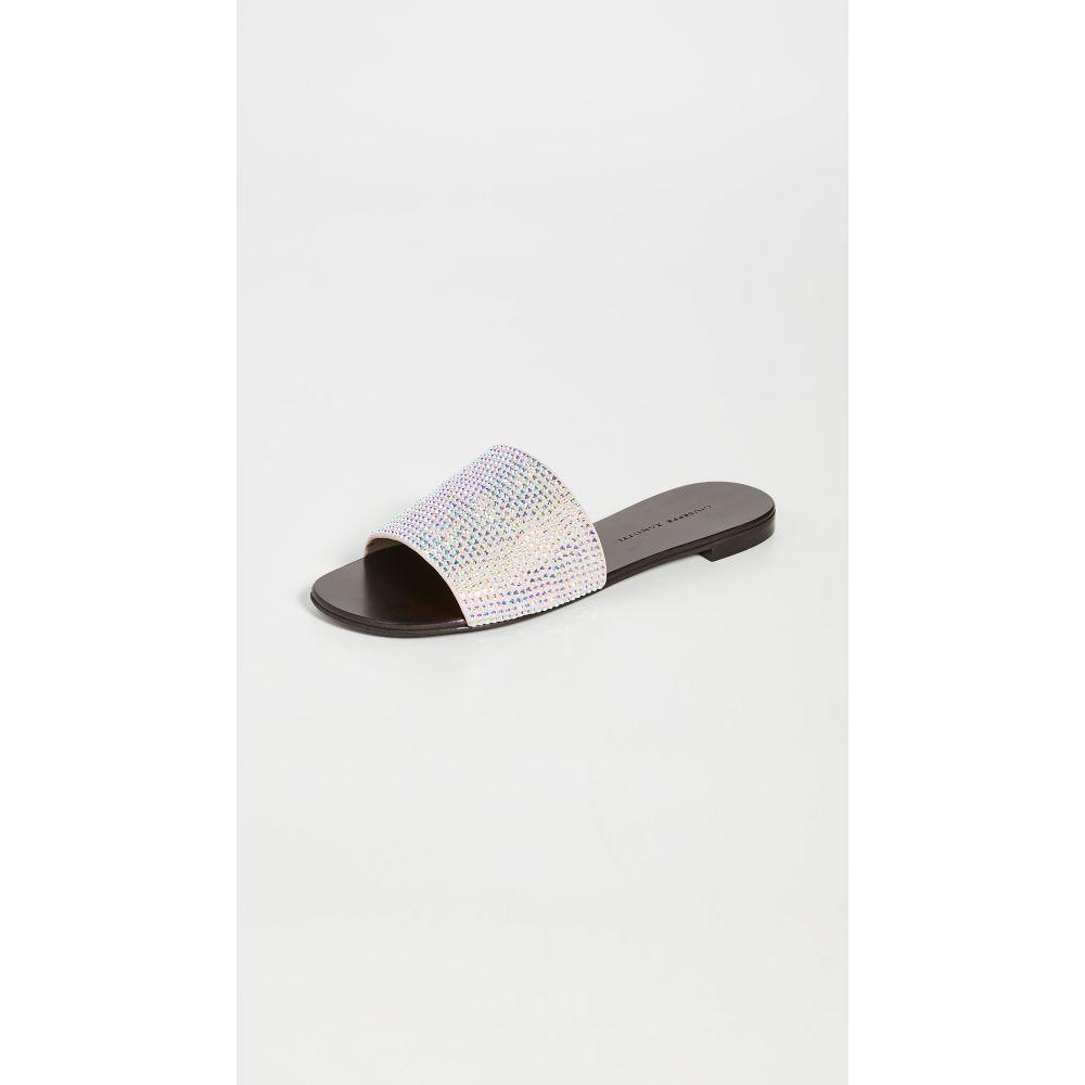 ジュゼッペ ザノッティ Giuseppe Zanotti レディース サンダル・ミュール シューズ・靴【NuvOroll Slides】Ricamo Rosa