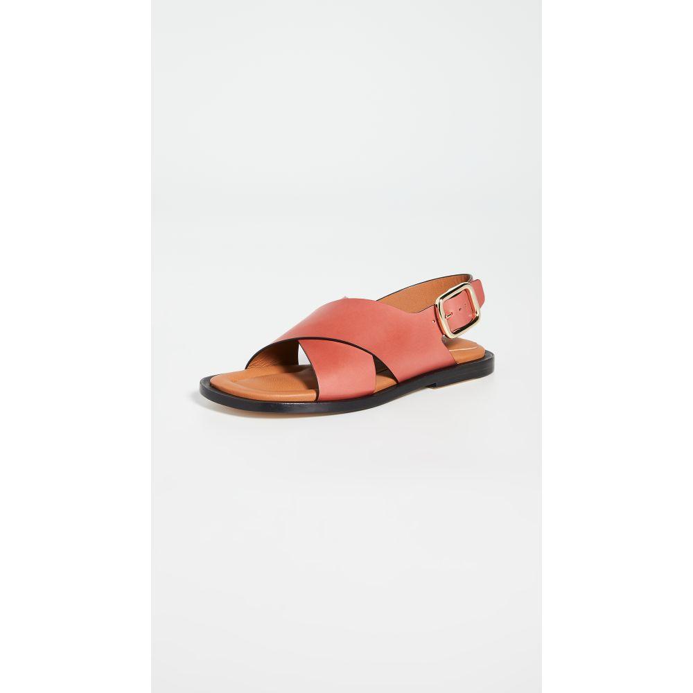 ジョゼフ Joseph レディース サンダル・ミュール シューズ・靴【Leather Crisscross Sandals】Siena