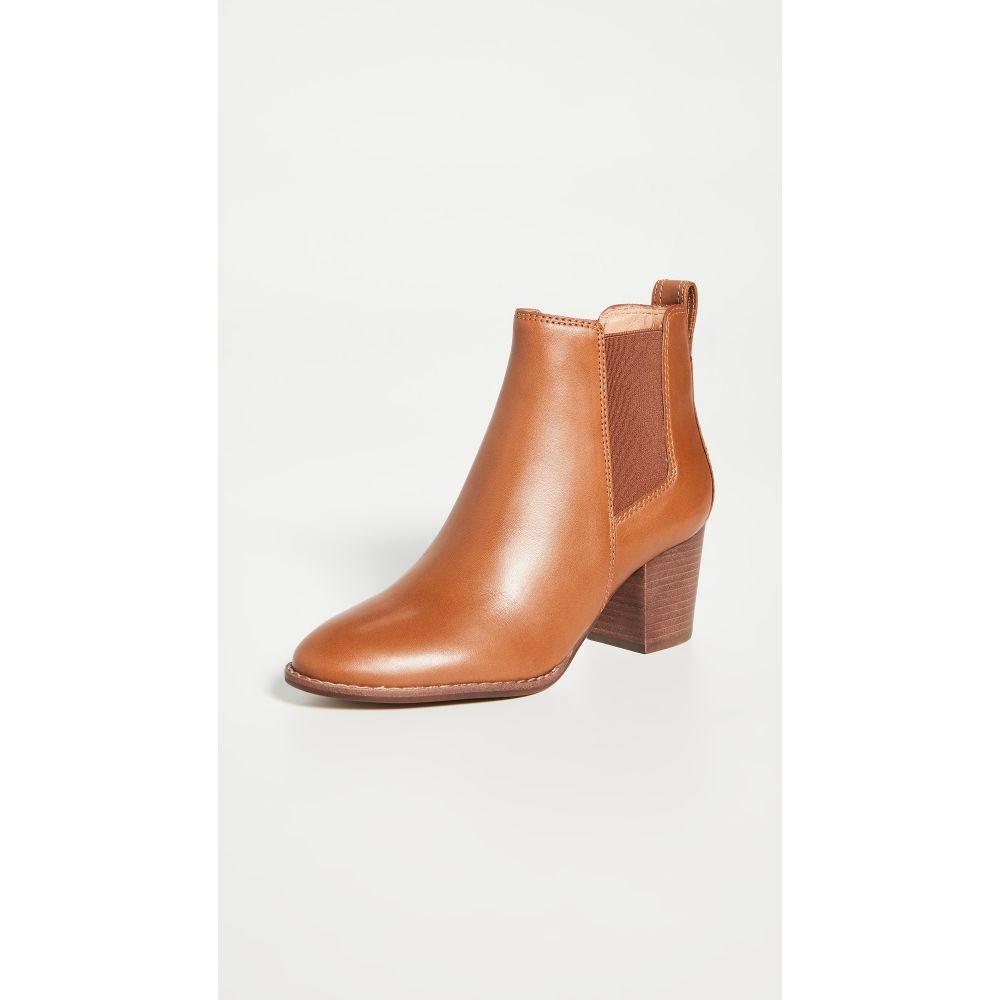 メイドウェル Madewell レディース ブーツ ブーティー シューズ・靴【The Baine Block Heel Booties】English Saddle
