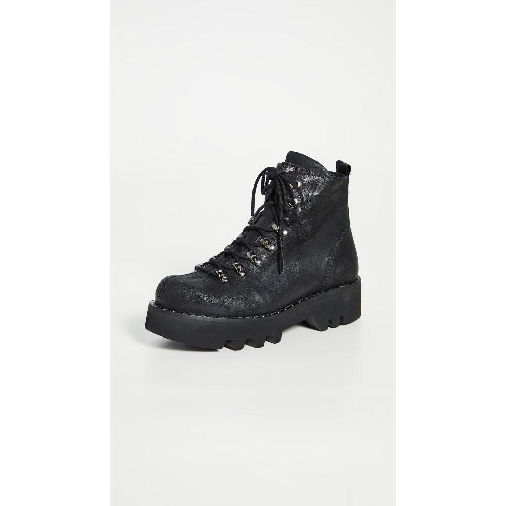 モンテリアーナ Montelliana レディース ブーツ シューズ・靴【Allison Boots】Black