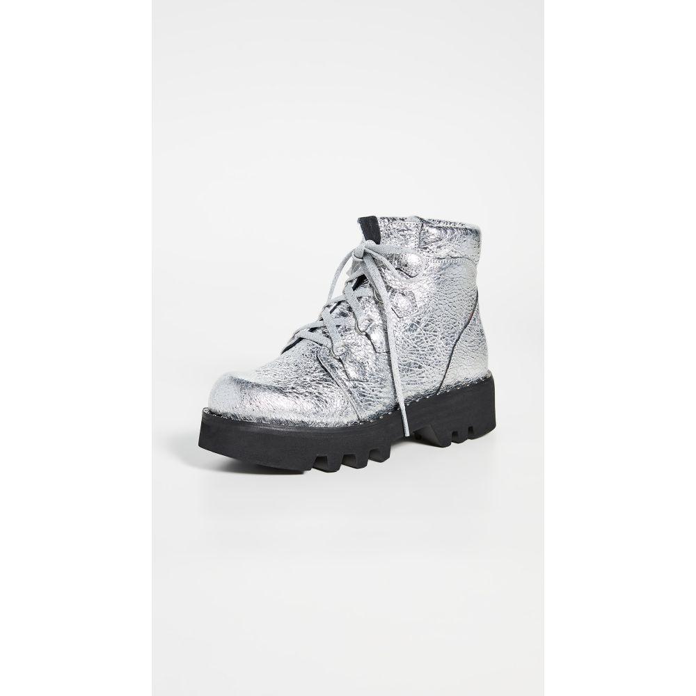 モンテリアーナ Montelliana レディース ブーツ シューズ・靴【Claudine Boots】Silver