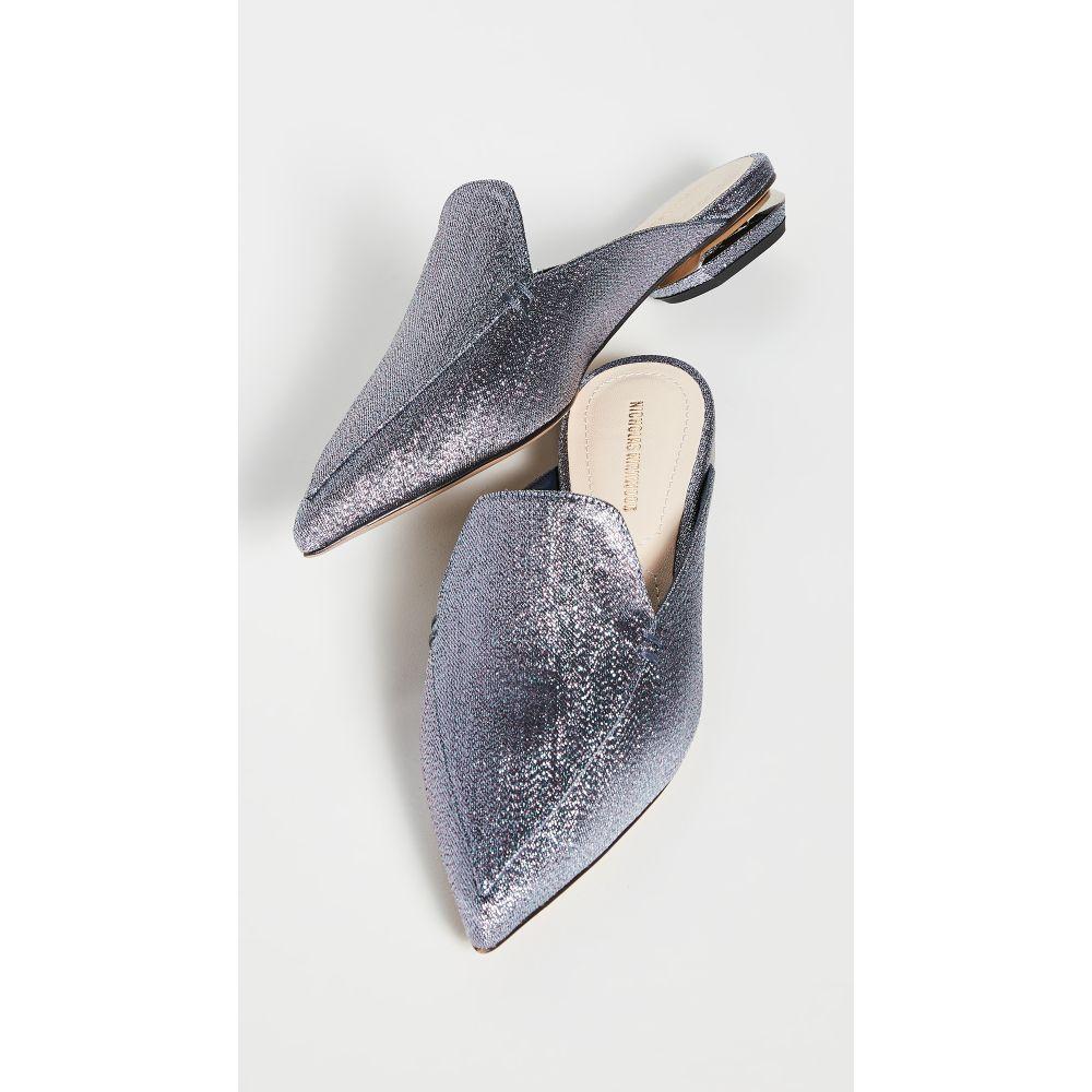 ニコラス カークウッド Nicholas Kirkwood レディース サンダル・ミュール シューズ・靴【Beya Flat Mules】Bornite