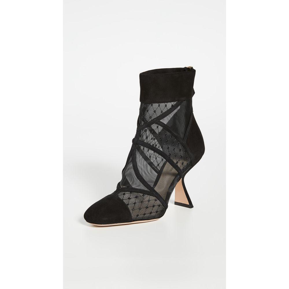 ニコラス カークウッド Nicholas Kirkwood レディース ブーツ ブーティー シューズ・靴【Selina Mesh Booties】Black