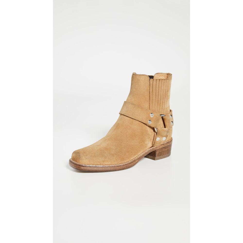 リダン RE/DONE レディース ブーツ シューズ・靴【Short Cavalry Boots】Worn Tan