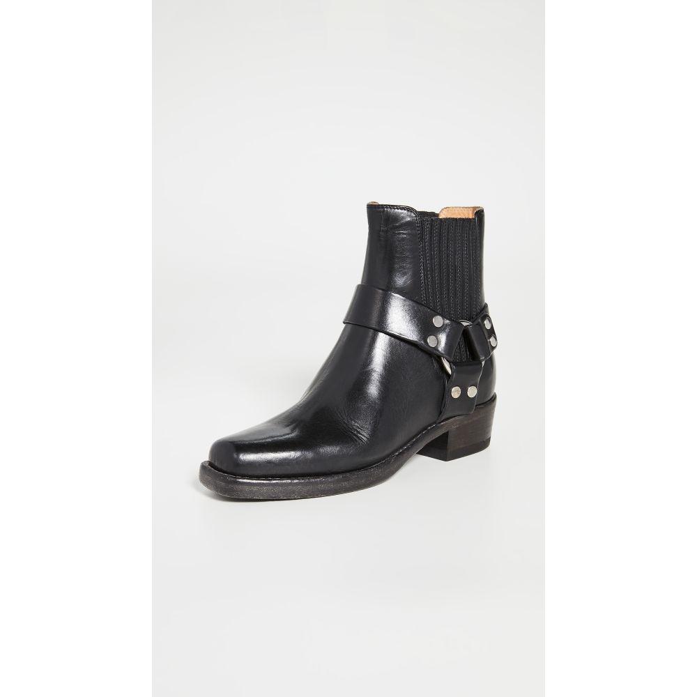 リダン RE/DONE レディース ブーツ シューズ・靴【Short Cavalry Boots】Black