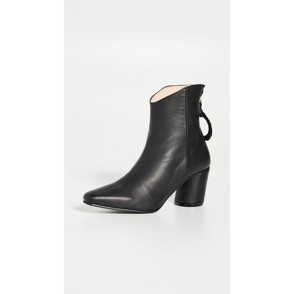 レイクネン Reike Nen レディース ブーツ シューズ・靴【Oblique Turnover Ring Boots】Black