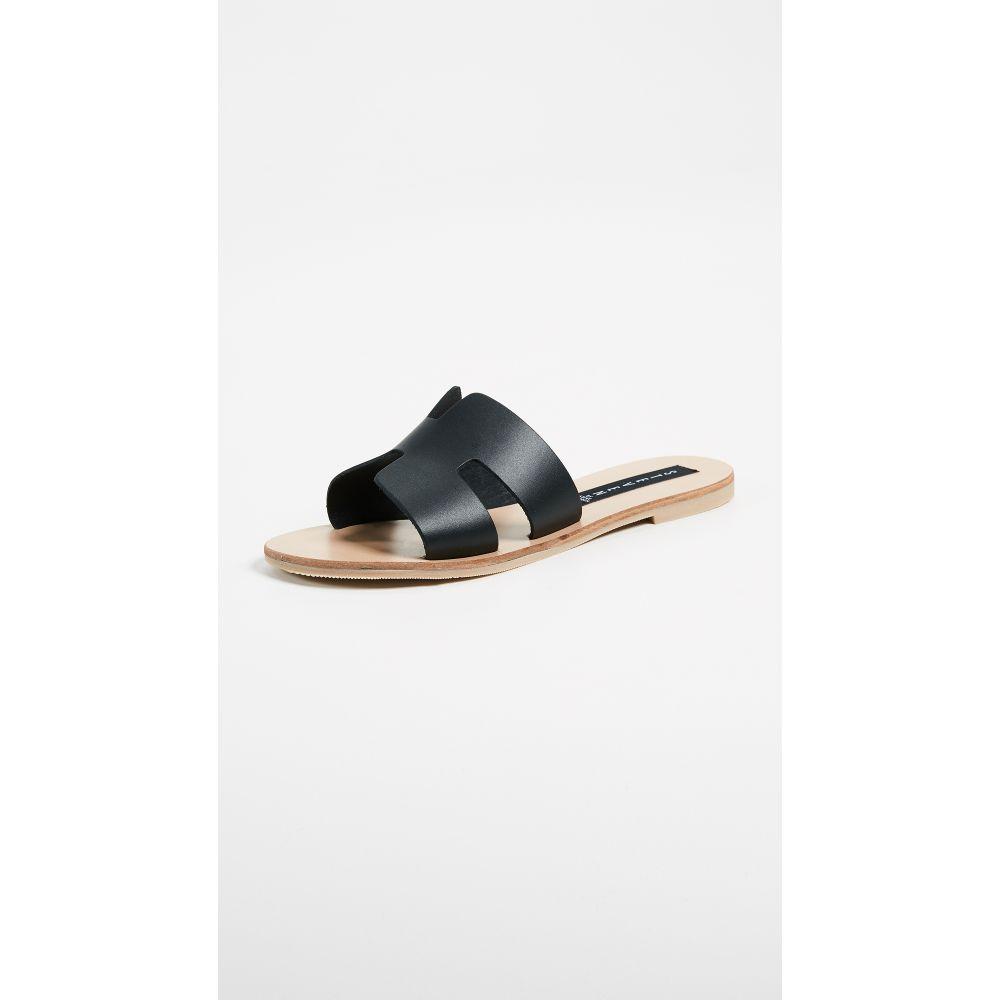 スティーブン Steven レディース サンダル・ミュール シューズ・靴【Greece Slides】Black
