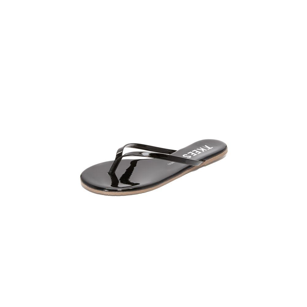 ティキーズ TKEES レディース ビーチサンダル シューズ・靴【Glosses Flip Flops】Licorice