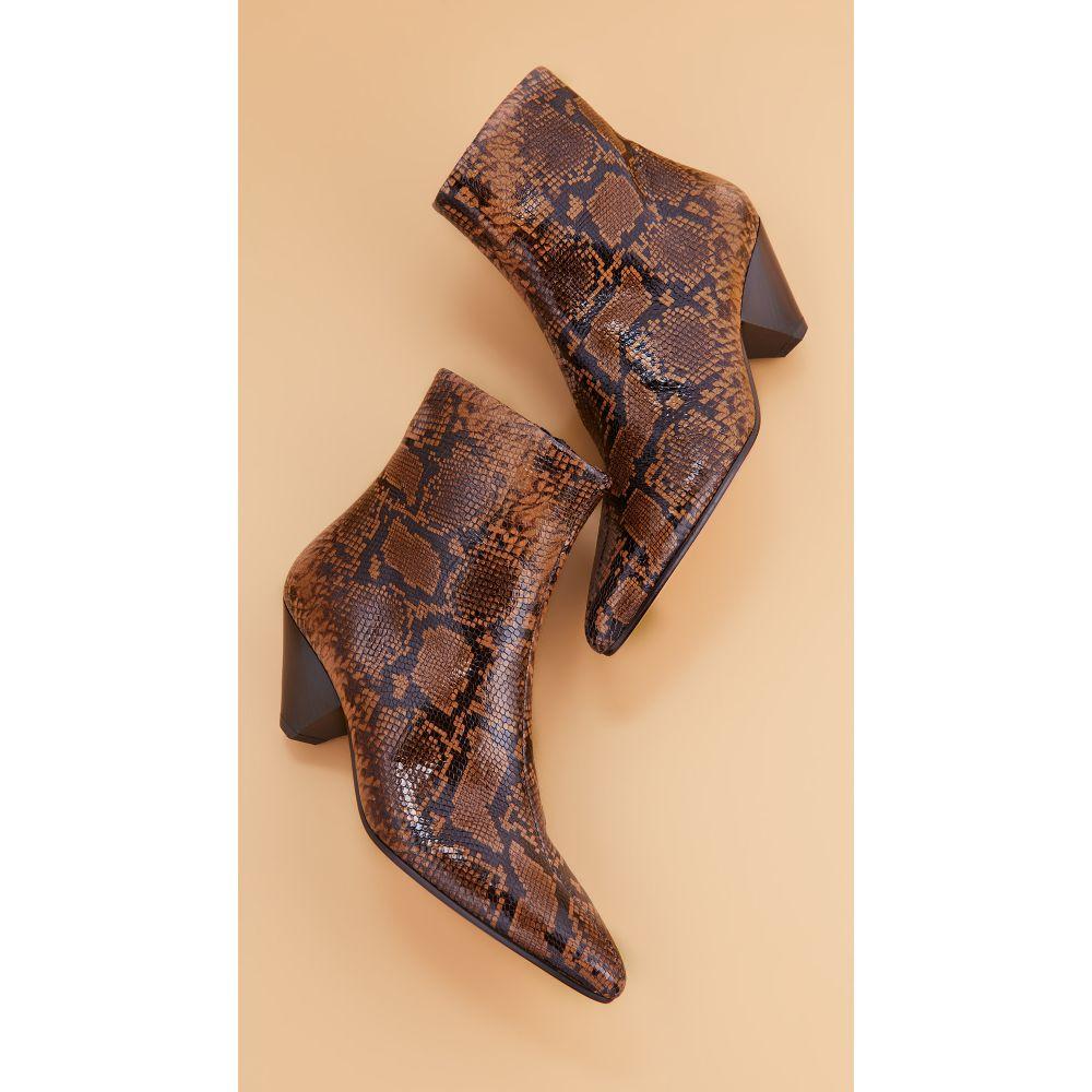 ヴィンス Vince レディース ブーツ ブーティー シューズ・靴【Alder Booties】Cuoio