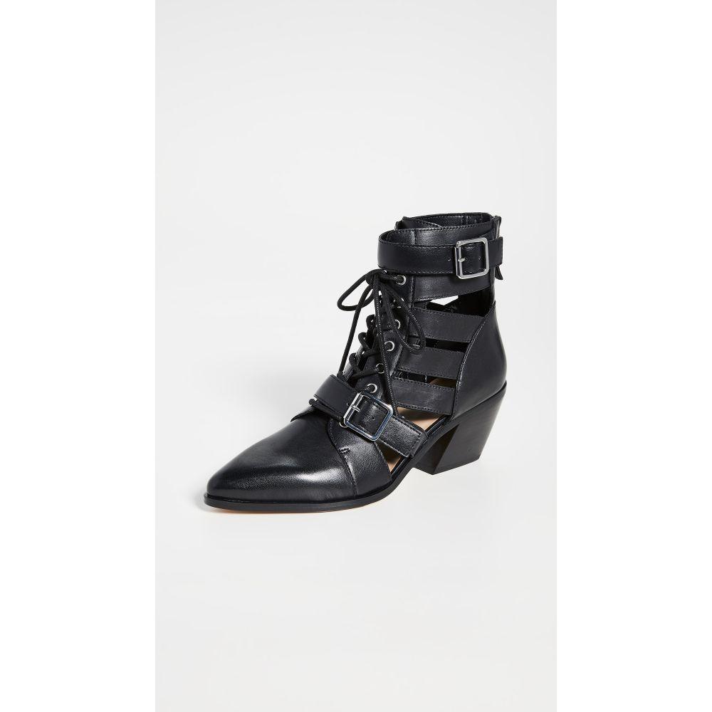 ヴィラ ルージュ Villa Rouge レディース ブーツ シューズ・靴【Yara Boots】Black