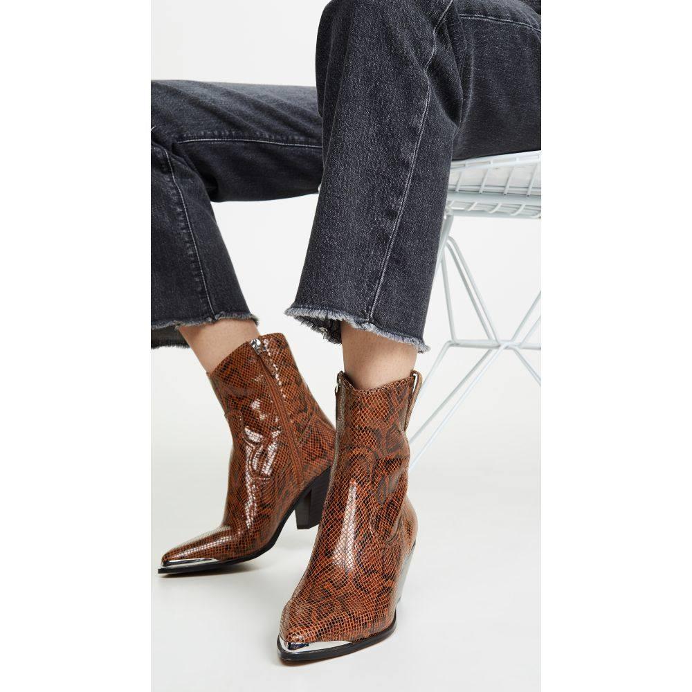 ヴィラ ルージュ Villa Rouge レディース ブーツ シューズ・靴【Yadira Boots】Brown Multi
