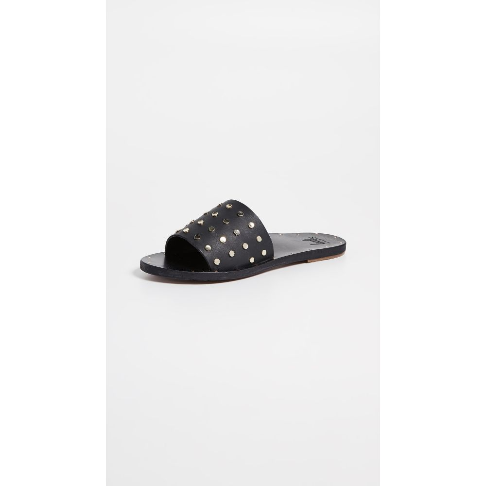 ビーク beek レディース サンダル・ミュール シューズ・靴【Lovebird Stud Slides】Black/Black