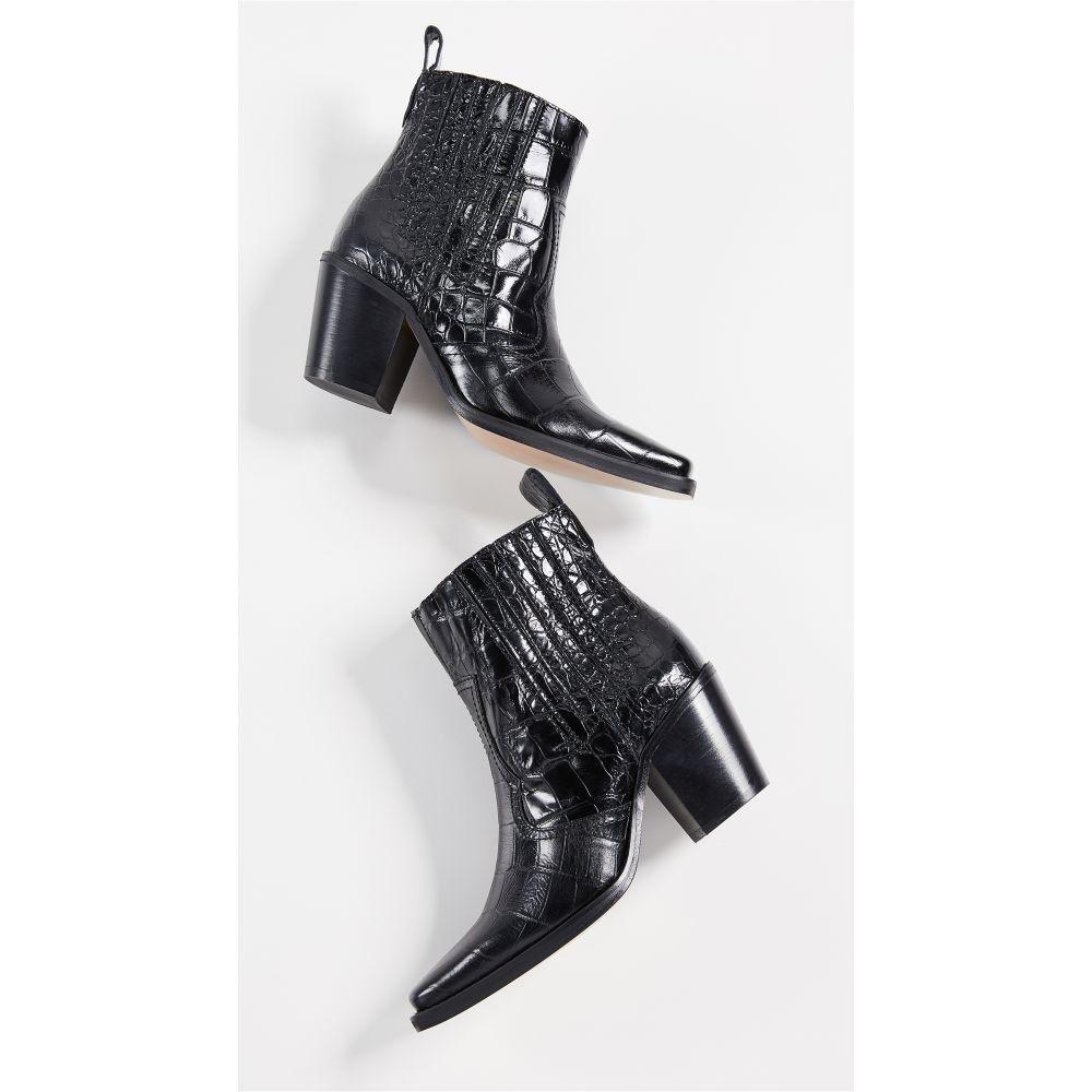 ガニー GANNI レディース ブーツ ウェスタンブーツ シューズ・靴【Western Boots】Black