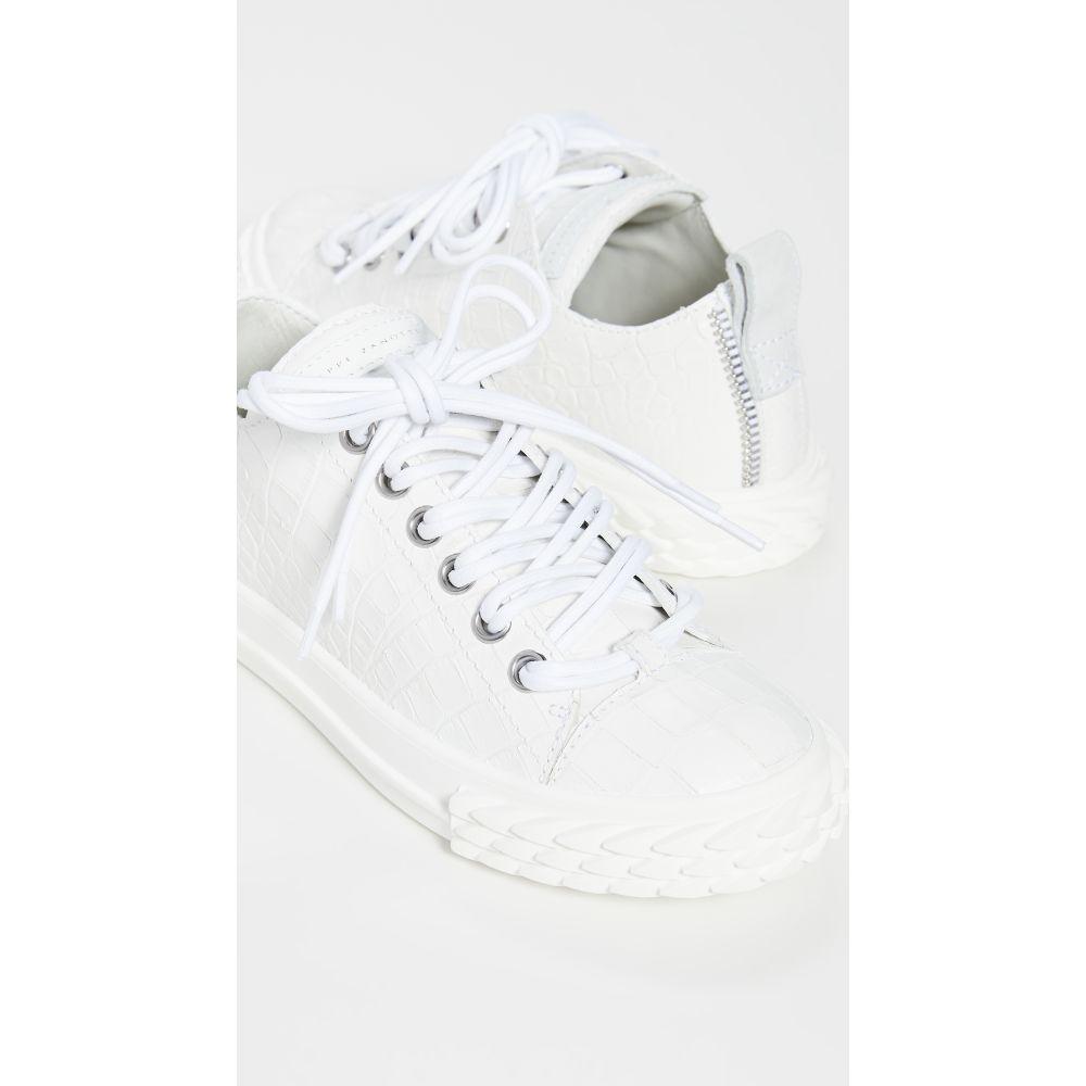 ジュゼッペ ザノッティ Giuseppe Zanotti レディース スニーカー シューズ・靴【Blabber Sneakers】Off White