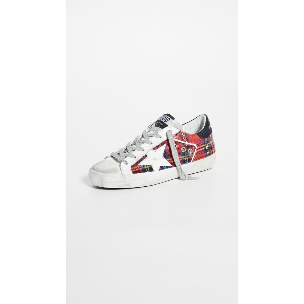 ゴールデン グース Golden Goose レディース スニーカー シューズ・靴【Superstar Sneakers】Double Check/White