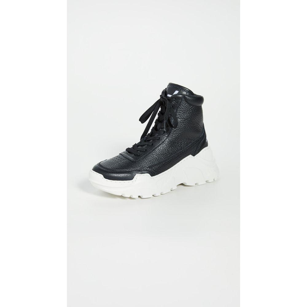 ジョシュア サンダース Joshua Sanders レディース スニーカー シューズ・靴【Zenith Classic Donna High Top Sneakers】Black/White