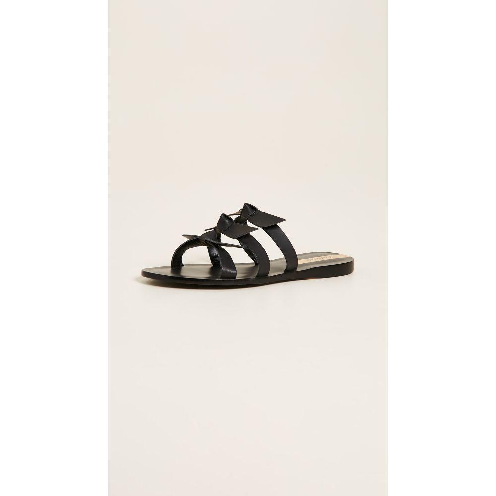 カーナス KAANAS レディース サンダル・ミュール シューズ・靴【Recife Bow Sandals】Black