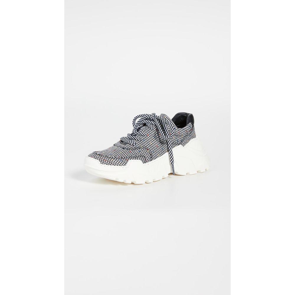 ラスト LAST レディース スニーカー シューズ・靴【Sprint Sneakers】Black/White Check