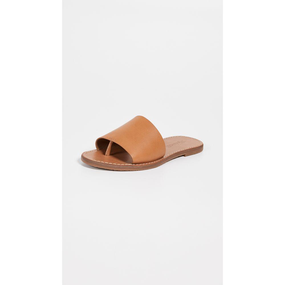 メイドウェル Madewell レディース サンダル・ミュール シューズ・靴【The Boardwalk Post Slide Sandals】Desert Camel