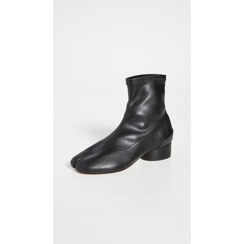 メゾン マルジェラ Maison Margiela レディース ブーツ ブーティー シューズ・靴【Tabi Faux Leather Sock Booties】Black